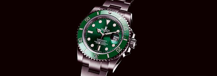 Venda de relógio Rolex