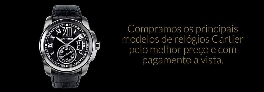 Compra de Relógio Cartier