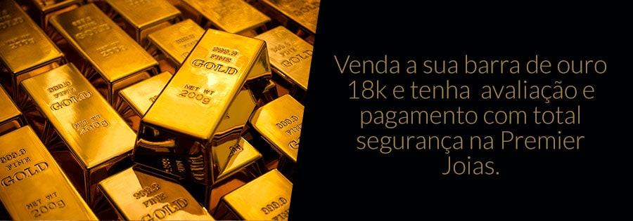 Compra de Barras de Ouro 18k