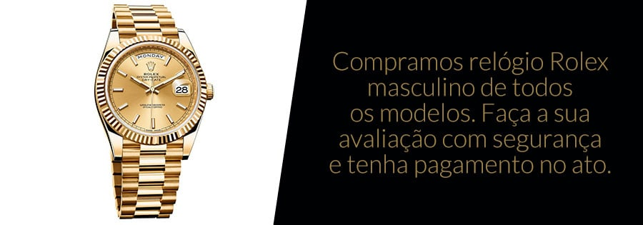 Compra de Relógio Rolex Masculino